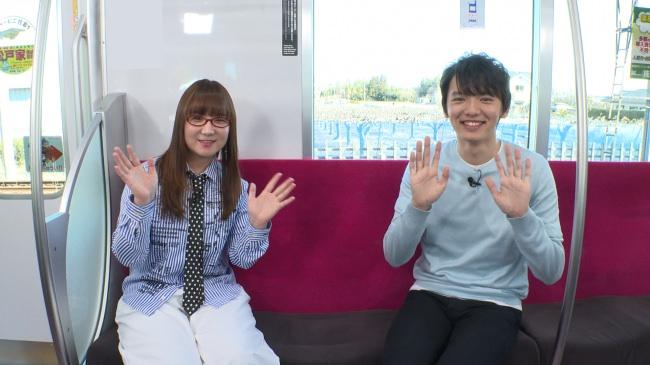まもなく新京成電鉄の駅構内放送が「シンガーソングライター 奥 華子さん と 俳優 濱田 龍臣さん 」に変わります。聞き逃しにはご注意ください♪