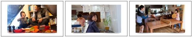 家族の笑顔が溢れる写真を通じて写真のチカラをお伝えする 企業広告 「写真は、家族を、笑顔にする。」 ~「写真を撮ろう」篇~ TVCM放映のご案内