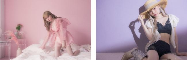 大人気バストアップ専門店『p-Grandi』監修のナイトブラ「PG-Bra(ピージーブラ)」のブランドイメージモデル 益若つばささんの新ビジュアルを公開!