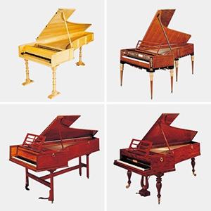 フォルテピアノ *写真は浜松市楽器博物館の所蔵楽器