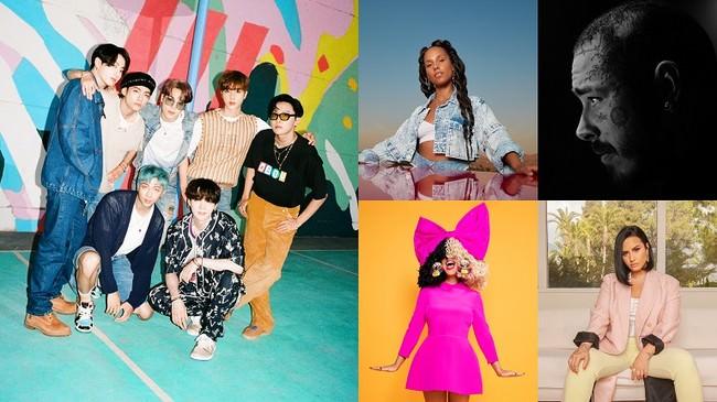 BTSが最新曲「Dynamite」を披露 アメリカ3大主要音楽祭の1つ「ビルボード・ミュージック・アワード2020」10月15日(木)9時~12時まで Huluで独占ライブ配信!