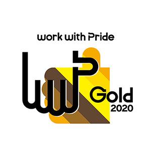 「PRIDE指標」の「ゴールド」マーク