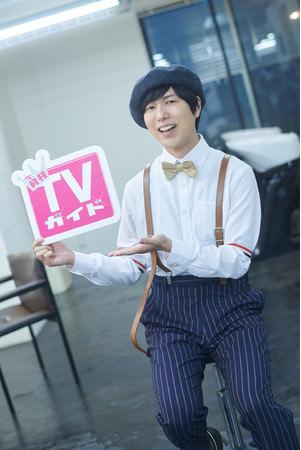 人気声優・神谷浩史が「月刊TVガイド4月号」で美容師に扮したグラビア披露! 購入者特典の生写真企画の絵柄も大公開