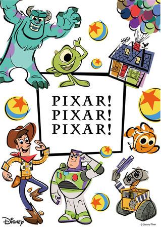 日本オリジナルイベント PIXAR! PIXAR! PIXAR! [ピクサー! ピクサー! ピクサー!] 関西で初開催!【大丸京都店】