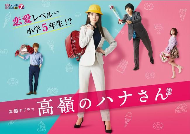 恋愛レベル小5☆バリキャリ美人OLの赤面ギャップラブコメ!TVドラマ「高嶺のハナさん」のDVD-BOXが10/6に発売決定!