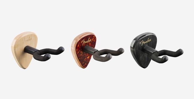 〜フェンダーのギターピック「351」シェイプのデザインを採用したユニークでスタイリッシュなギターハンガーが登場〜『351ギターウォールハンガー』6月16日(水)より販売