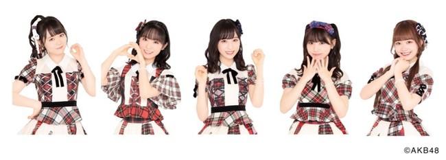 西川怜・山内瑞葵・小栗有以・久保怜音・大盛真歩 IxR from AKB48