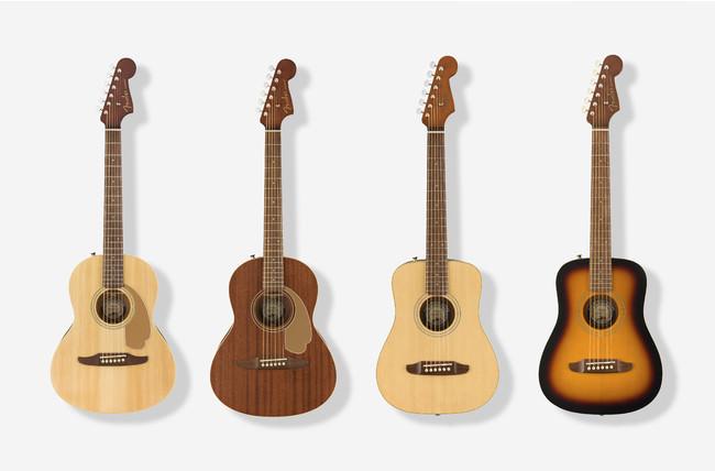 フェンダーのミニサイズのアコースティックギター『CALIFORNIA MINI』シリーズがついに販売開始!
