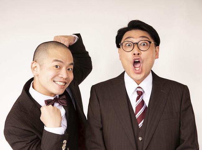 左)上田航平(うえだこうへい) 右)サイトウナオキ