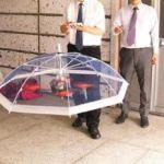 ドローンが傘になる!?電動傘「フリーパラソル」のお値段は?