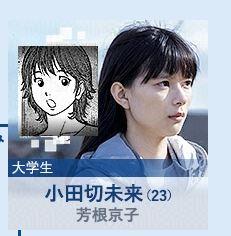 モンタージュ ヒロイン 芳根京子