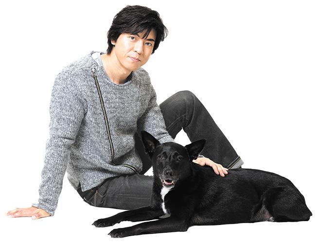上川隆也 愛犬ノワール 出会い 溺愛加減