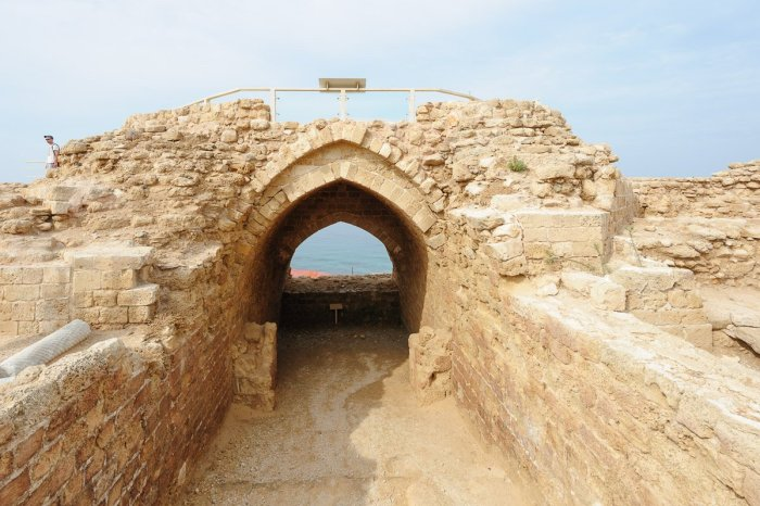 Inneres Tor zur Kreuzritterfestung