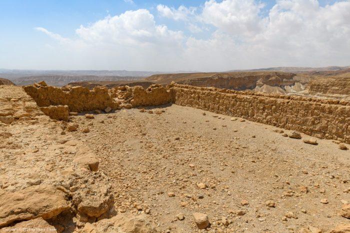 Swimming pool at Masada