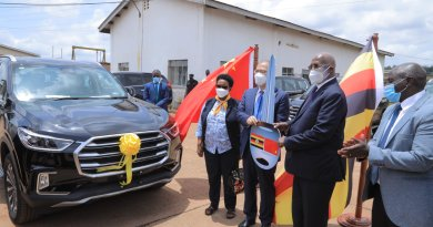 China donates Vehicles to Uganda