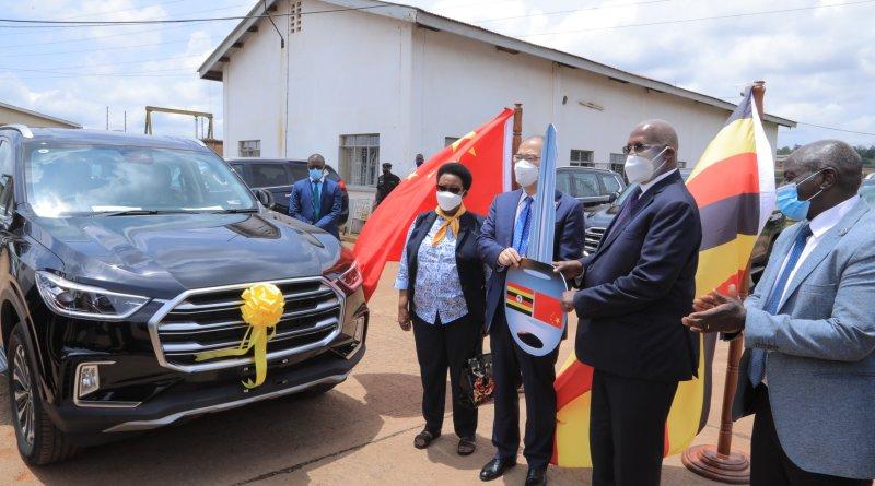 China donates Vehicles to Uganda