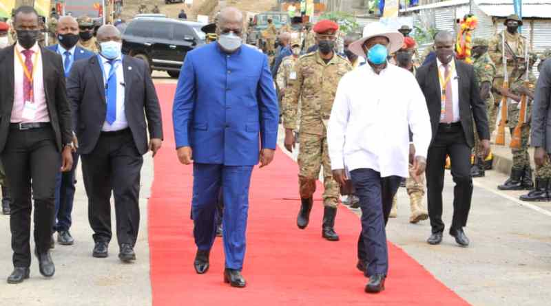 Museveni and DR Congo President Tshisekedi