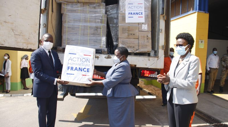France's donation of PPE's, worth UGX 10.8bn to boost fight against Covid 19 says  – PM Nabbanja