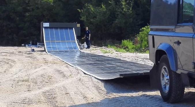 katlanılabilir güneş paneli teknoloji
