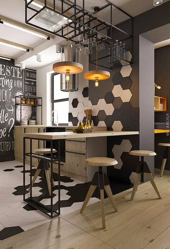 10 estilo-industrial-na-decoracao-6 Decoração industrial estilo-industrial-na-decoracao-entenda antes, estilo de decoração, cozinha com estilo de decoração industrial