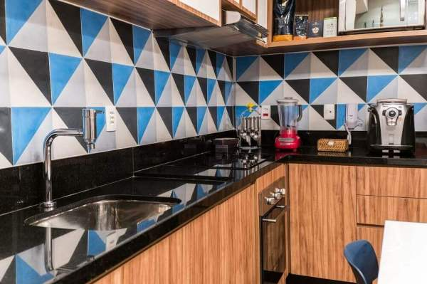 cozinha com granito preto aracruz