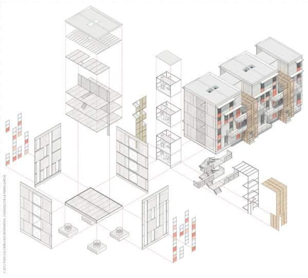 Casas pré-moldadas - Projeto