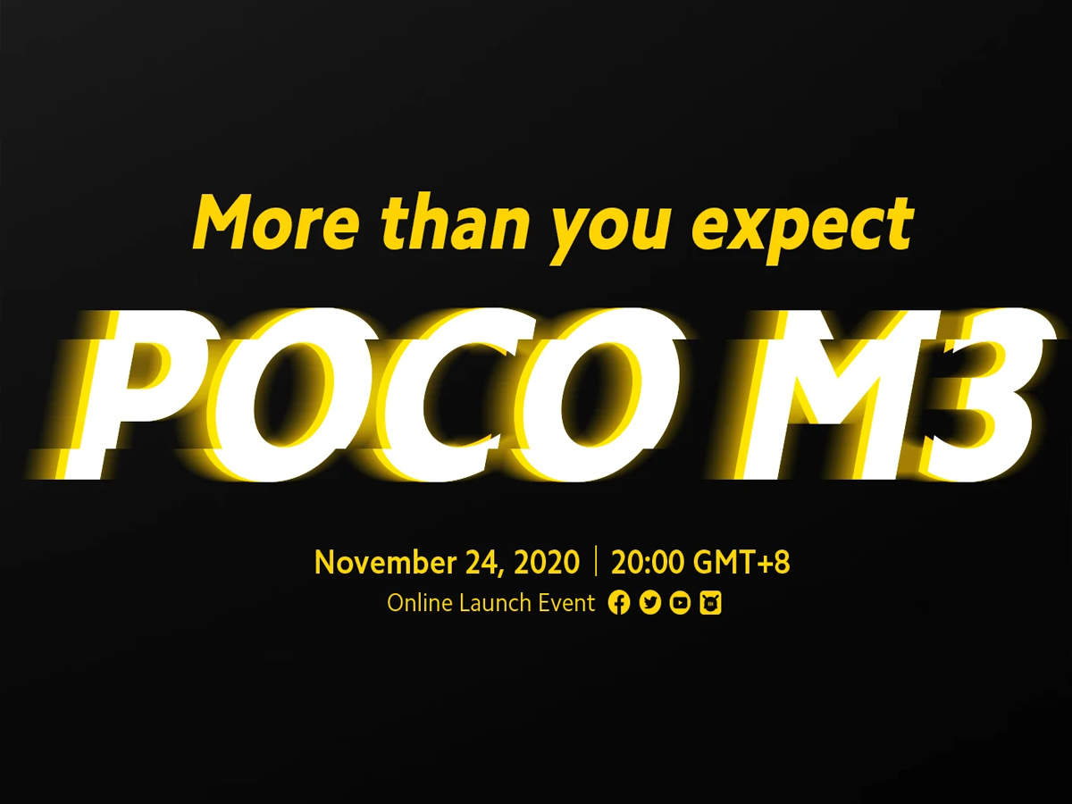 Poco M3 to Launch on November 24