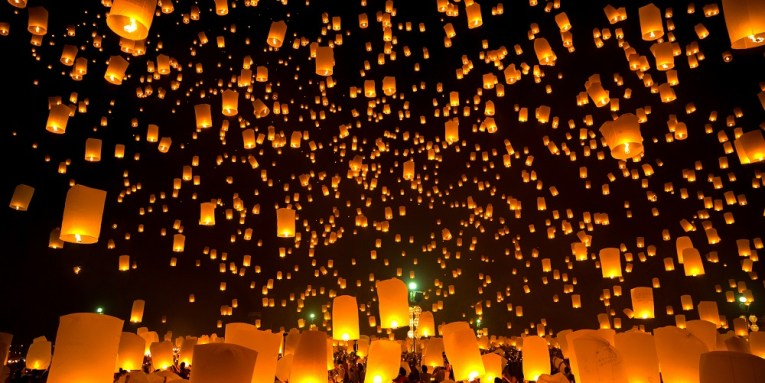 Festival de Linternas en Tailandia