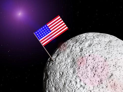 La llegada a la luna fue actuada