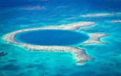 Arrecife de belice en peligro de extinción