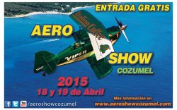 Aeroshow Cozumel 2015
