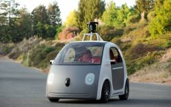 Los carros auto manejables de Google