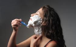 ¿Te atreverías a afeitar todo tu vello facial?