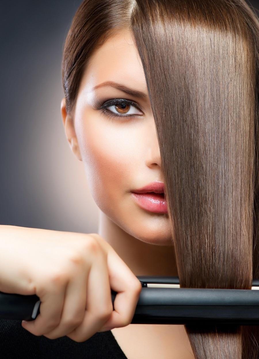 Ideas bonitas para peinados con plancha Colección de estilo de color de pelo - 6 Consejos para planchar tu cabello a la perfección ...