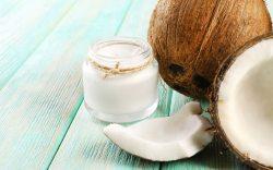 mascarilla natural con aceite de coco