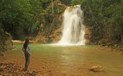 Cascadas Damajaqua en la República Dominicana