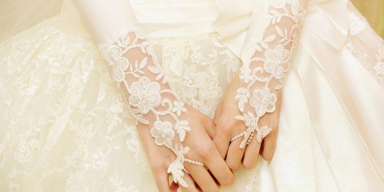 evolución de los vestidos de novia en cien años