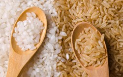 Arroz blanco VS Arroz Integral