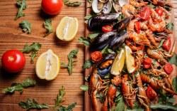 gastronomía de la Baja