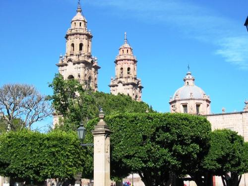 Morelia México es un Patrimonio de la Humanidad por la UNESCO centro historico de Morelia. Catedral de Morelia