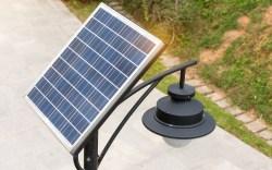 5 ideas de lámparas solares para jardín 1