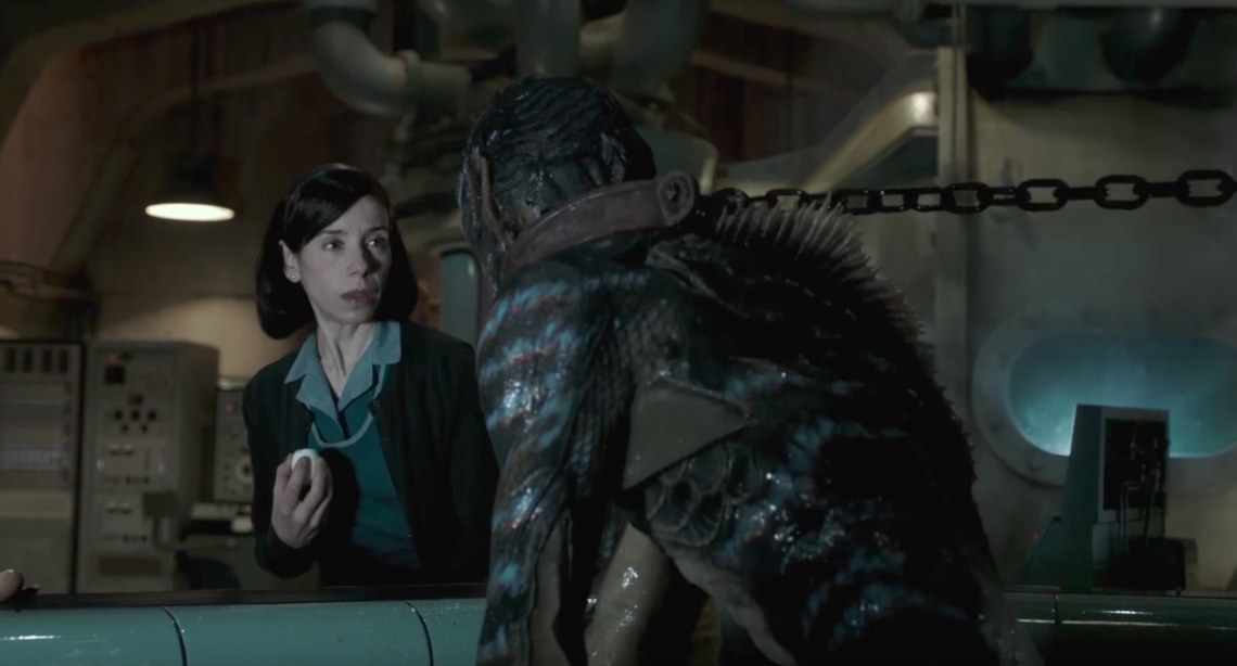 The Shape of water es una fábula moderna sobre el amor.