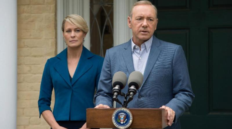 Robin Wright sale en defensa de su ex coestrella de House of Cards Kevin Spacey