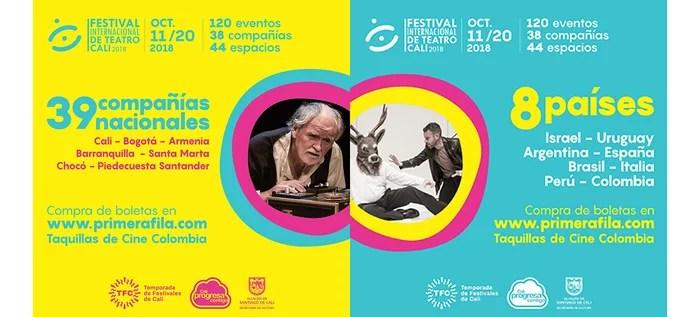 Disfruta de lo mejor del Festival Internacional de Teatro de Cali