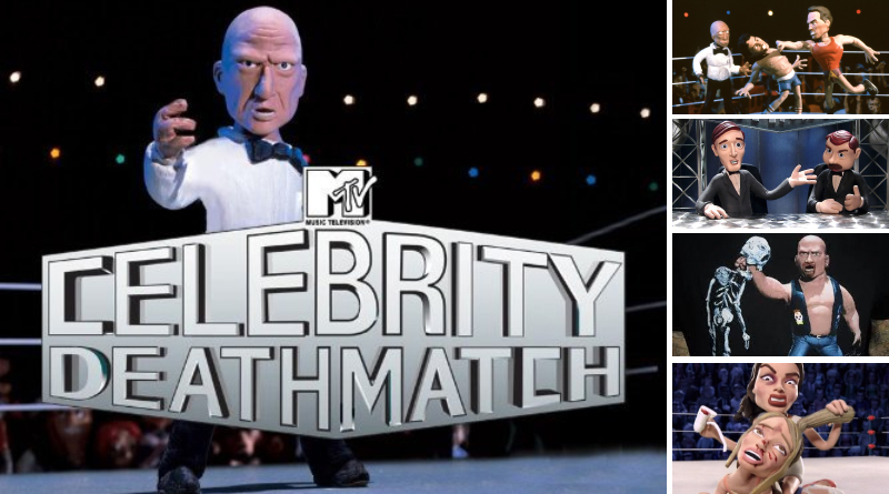 MTV confirma el regreso de Celebrity Deathmatch 🤪👊🏻💥
