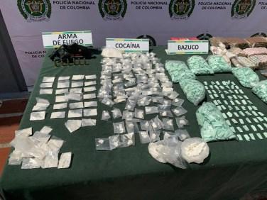 Cayeron La Fory en el norte de Cali, vendía unas 5000 dosis de estupefacientes (1)