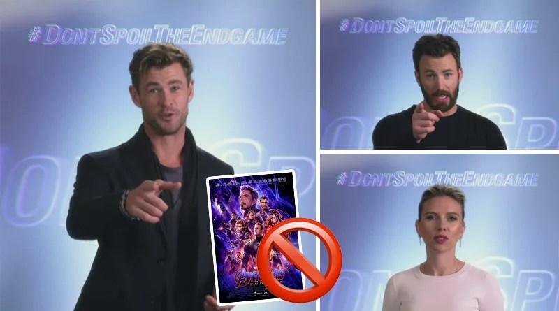 El llamado de The Avengers a NO hacer SPOILER 🎥🚫🍿