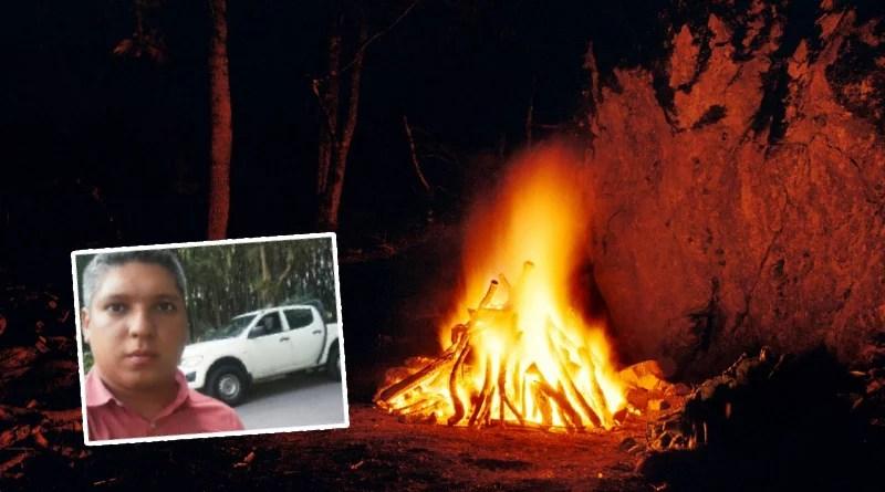 En Neiva murió un hombre quemado mientras hacía un ritual para la suerte