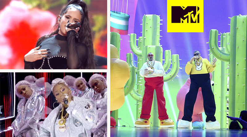 Presentación de J Balvin y Bad Bunny en los MTV Video Music Awards + Extras