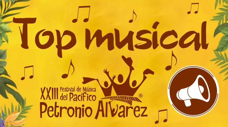 Top musical para activar el MODO Petronio Álvarez